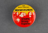 Women in Unions badge